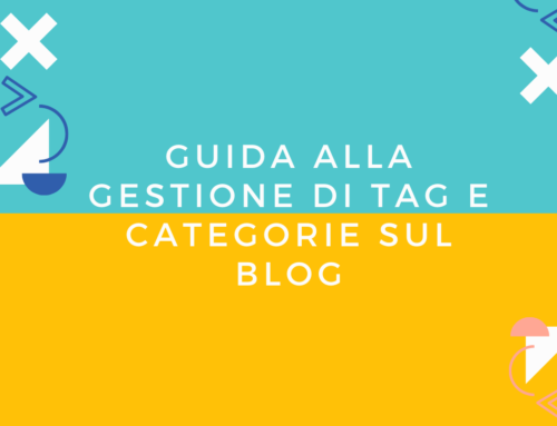 Come gestire tag e categorie su WordPress