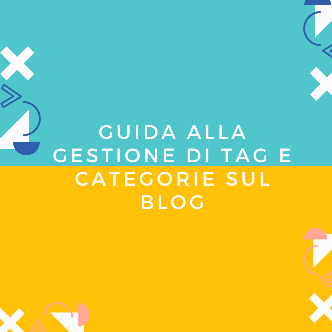 come gestire tag e Categorie WordPress